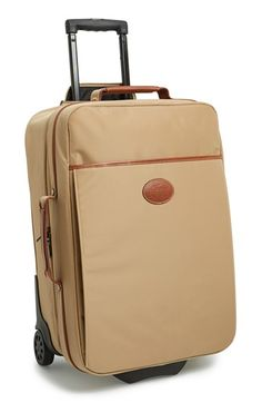 Longchamp 'Le Pliage' Wheeled Carry-On (21 Inch) available at #Nordstrom