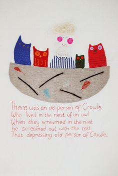 There was an old person of Crowle by Hazel Terry, via Flickr