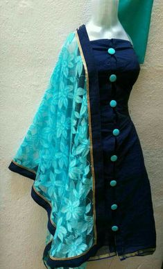 Are you searching for quality ladies Punjabi Suit and Elegant Designer ladies Punjabi Suit then Click VISIT link for more info Salwar Designs, New Kurti Designs, Kurta Designs Women, Neck Designs For Suits, Dress Neck Designs, Blouse Designs, Chudidhar Designs, Party Kleidung, Indian Designer Suits