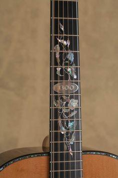 Making Musical Instruments, Music Instruments, Guitar Inlay, Guitar Building, Beautiful Guitars, Epiphone, Banjo, Music Stuff, Acoustic Guitars