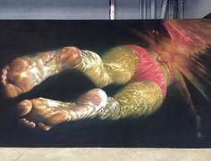 New Street Art by Jean Rooble in Paris