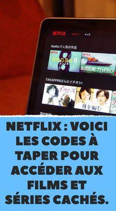 Netflix: here are the codes to type to access hidden movies and series. Netflix : voici les codes à taper pour accéder aux films et séries cachés. Netflix: here are the codes to type to access hidden movies and series.