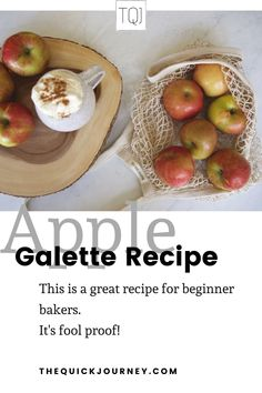 There's something about fall and apple recipes that just seem to go together. Autumn is perfectly celebrated in this simple, fall apple galette recipe. It is perfect for an afternoon tea treat or as dessert for a gathering. Plus, it is fool proof and great for a beginner baker! Grab my step-by-step tutorial in this post! Baked Apples, Cinnamon Apples, Apple Recipes, Great Recipes, Apple Galette, Galette Recipe, Vegetarian Bake, Homemade Whipped Cream, Recipes For Beginners