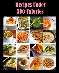 What Does 300 Calories Really Look Like