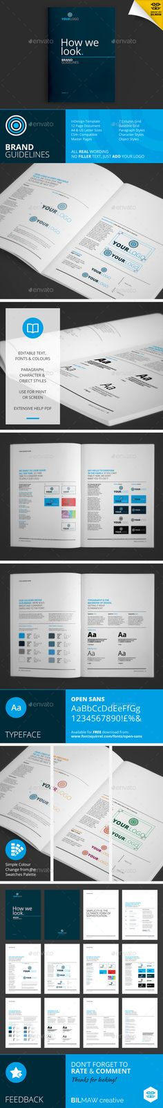 How We Look - Brand Guidelines - Corporate Brochures