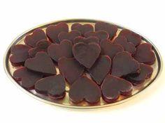 selbstgemachte Gummibärchen zum Valentinstag