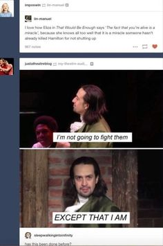 Me on an everyday basis! Alexander Hamilton/Lin Manuel Miranda is my frickin spirit animal 😂 Alexander Hamilton, Aaron Burr, Hamilton Musical, Hamilton Fanart, Hamilton Lin Manuel Miranda, Fandoms, Thing 1, Founding Fathers, The Villain