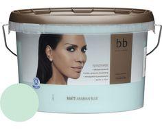 Wandfarbe b.b Barbara Becker Arabian Blue 2,5 l bei HORNBACH kaufen