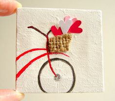 Hey, I found this really awesome Etsy listing at https://www.etsy.com/listing/99543696/home-decor-french-bicyclette-mixed-media