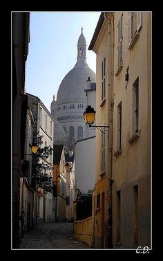 Petit matin à Montmartre - Rue Ste Rustique