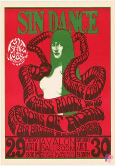 Avalon Ballroom 4/29-30/66: Big Brother and the Holding Company Poster by Wes Wilson