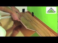 Como colocar um pavimento flutuante - YouTube