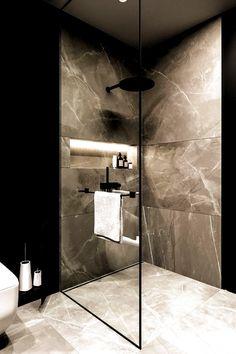 #apartment #Ark #bathroominspiration #Beta #Brit #Dezign#apartment #ark #bathroominspiration #beta #brit #dezign # home decor Bathroom Design Luxury, Modern Bathroom Design, Bathroom Designs, Small Bathroom Interior, Modern Luxury Bathroom, Modern Apartment Design, Shower Tile Designs, Luxury Kitchen Design, Luxury Bathrooms