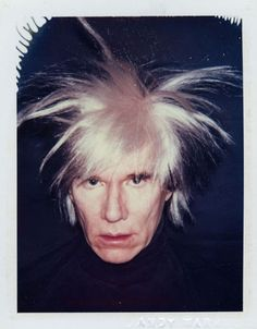 Andy Warhol (American, 1928-1987). Self-portrait, 1986. Polaroid™.  The Andy Warhol Museum, Pittsburgh.