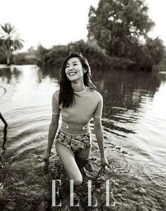 劉雯, 超模, 中國超模