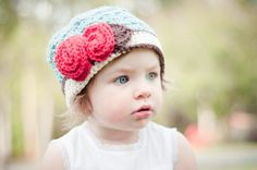 Inspiration: Girls crochet hat