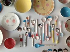 ceramics, by Tamsin Ainslie click now for more info. Ceramics Projects, Clay Projects, Clay Crafts, Diy And Crafts, Projects To Try, Arts And Crafts, Ceramic Spoons, Ceramic Clay, Ceramic Plates