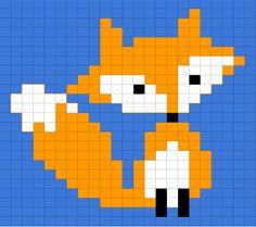 Point de croix renard