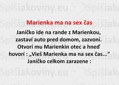 Marienka ma na sex čas - Spišiakoviny.eu