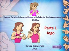 Em nosso blog já postamos nossa apostila de Vocabulário - Confira AQUI   Agora a professora surda Clara Ramos Pedroza estará disponibilizan...