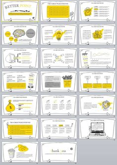 Use this template to create your own presentation. Either for a visual identity or anything you like. Get inspired to create amazing slides in less than you think. Powerpoint Design Templates, Powerpoint Themes, Presentation Design Template, Ppt Design, Presentation Layout, Creative Powerpoint, Keynote Template, Colorfull Wallpaper, Cool Cartoons