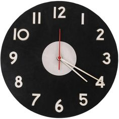 George Nelson Leather and Aluminum Faced Clock for Howard Miller ca.1960 | 1stdibs.com