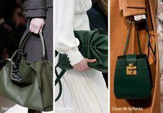 Fall Winter 2018 2019 Handbag Trends Deep Green Bags Purses Katespadehandbags
