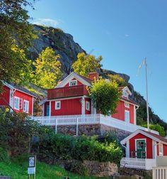 Red House Fjällbacka Sweden by StefanOlaison, via Flickr