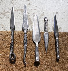 Letter Openers by Yardley Forge