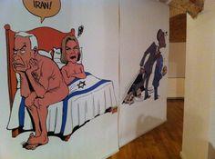 Che cosa accomuna il virtouso Riccardo Mannelli, noto per i ritratti su Repubblica, ma anche per la lunga carriera di pittore e disegnatore, il giovane illustratore Shout, che ha al suo attivo una quantità di premi e pubblicazioni internazionale da Guiness e il disegnatore fortemente politicizzato brasiliano Carlos Latuff?