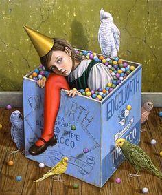The familiar somber birthday girl. I was a strange child. Shiori Matsumoto (1973, Japanese)