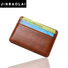 2016 fashion Vintage Style High quality PU leather magic wallet men's mini multifunctional card holder brand magic wallets * Be sure to check out this awesome product. Leather Case, Pu Leather, Mode Vintage, Gift List, Fashion Vintage, Multifunctional, Luggage Bags, Best Sellers, Card Holder
