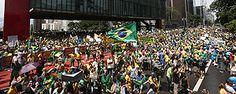 Protesto contra o governo Dilma na av. Paulista (Danilo Verpa - 15.mar.15/Folhapress)