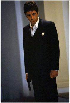 """Al Pacino as Tony Montana in """"Scarface"""""""