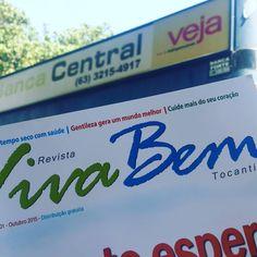 Uma galera perguntando onde encontrar a Viva Bem Tocantins. Tá aí: parceria com a Banca Central, em Palmas.