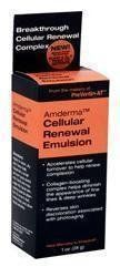 Amderma Cellular Renewal Emulsion 1 oz by Advanced Healthcare Distributors. $17.63. Reverses skin discoloration associated with photo aging.. From Makers of Preventin-AT. Accelerates cellular turnover to help renew complexion.. Value Alternative to Amatokin. Collagen-boosting complex helps diminish the appearance of fine lines and deep wrinkles.. Bottle is 1 oz