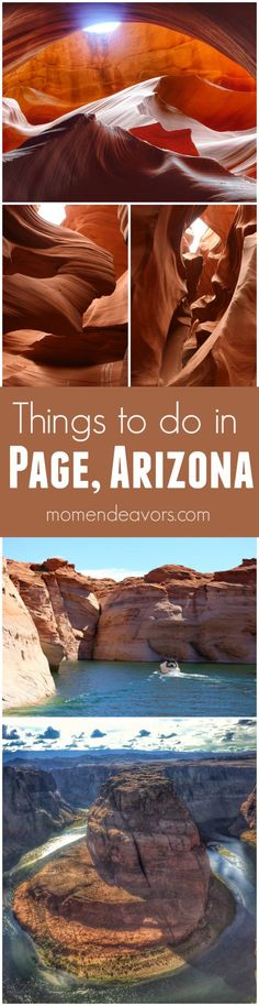 Thing to do in Page, Arizona - travel tips if you're visiting the National Parks in the desert southwest or doing an Arizona roadtrip!