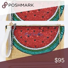 GOLD SEQUINED WATERMELON CHAINED HANDBAG Xo Nasty Gal Bags