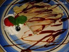 Palacinky (fotorecept) - recept | Varecha.sk Pancakes, Food And Drink, Breakfast, Recipes, Morning Coffee, Crepes, Food Recipes, Pancake, Rezepte