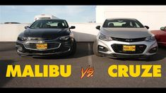 2018 CHEVY MALIBU VS. 2018 CHEVY CRUZE | DGDGTV Chevy, Chevrolet