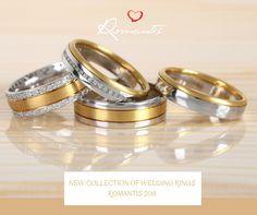 New collection of wedding rings Romantis 2018! // Nueva colección de alianzas de matrimonio Romantis 2018!  #romantis #novacoleção #weddingrings #alianzasdematrimonio #aliançasromantis #casamento
