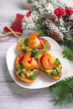 Брускетта с гуакамоле и креветками рецепт на сайте http://gotovim-doma.ru/view.php?r=1232-recept-Brusketta-s-guakamole-i-krevetkami