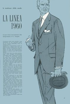 Milstil: The cloths, cut and details for 1960 according to LA LINEA