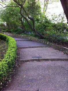 Castle Park Colchester Essex, Essex England, Sidewalk, Castle, Park, Side Walkway, Walkway, Castles, Parks