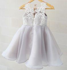 ---Olivia Grey dress--- #thankyoufortrusting #honeybee_kids #honeybeekids #kidsfashion