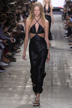 Alexander Wang - Wang went back to his California roots with this collection, in a mix of lingerie and surf, with a dash of menswear. I love his cool take on the LBD.