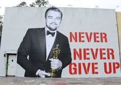Words to live by. Thanks for the inspiration, Leo!