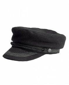 the latest 1c0a1 ead3e Twist Braid Decorated Captain Hat Captain Hat, Levis, Latest Street  Fashion, Beanie Hats
