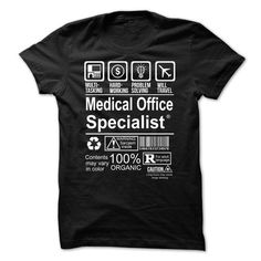 MEDICAL OFFICE SPECIALIST T Shirts, Hoodies. Get it now ==► https://www.sunfrog.com/Jobs/Hot-Seller--MEDICAL-OFFICE-SPECIALIST.html?57074 $20.99