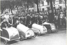 Boy Scouts- soapbox derby at Greenhead Street, Bridgeton  1952